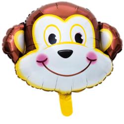 Folieballong Barnkalas Födelsedag Fest Apa 46cm multifärg
