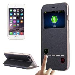 Call ID fodral till iPhone 8 plus Svart