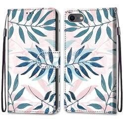 Plånbok med mönster för iPhone 7/8/SE 2020 multifärg
