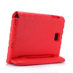 Samsung Galaxy Tab A 10.1 (2016) - Barnvänlig & Tåligt Fodral Röd