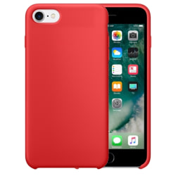 Mobilskal i silikon - iPhone 7/8/SE 2020 Röd