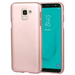 Stilrent TPU-skal för Samsung Galaxy J6 (2018) Rosa