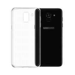 Transparent TPU-skydd för Samsung Galaxy J6 (2018) Transparent