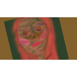 "X25- ""AFF""- Art for feeling size 15x15 cm"