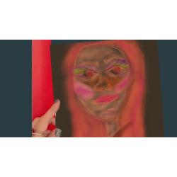 "X27- ""AFF""- Art for feeling size 15x15 cm"