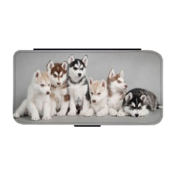 Siberian Husky Valpar Samsung Galaxy S9 Plånboksfodral one size