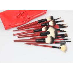 Makeup brush set 22st olika make up penslar i fin mjuk väska