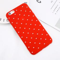 Dotty Case iPhone XR Röd