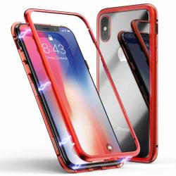 Full Magnet Case - iPhone X/XS Röd