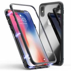 Full Magnet Case - iPhone XS MAX  Svart
