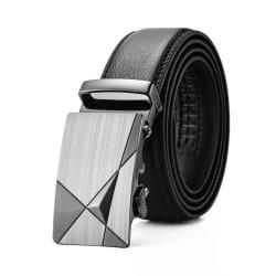 Läder bälte- HM2201 Svart