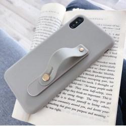 Strap iPhone Case 7/8+ grå