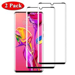 2 st  härdad glas för Huawei p30 pro