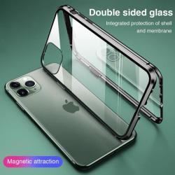 Doubel magnet fodral för iphone 11 pro max|svart
