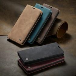 CaseMe 013 för Samsung Galaxy S21plus ljusbrun brun