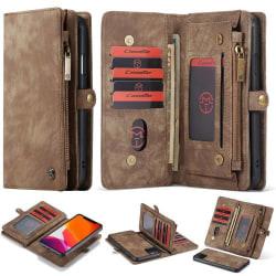 caseMe  plånbok fodral med 8 kort platser för iphone 11 pro max