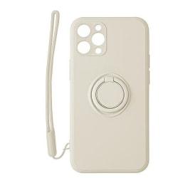 PASTEL RING fodral för samsung S21|vit