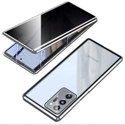 Sekretess magnetfodral för Samsung Galaxy S20 silver silver