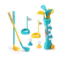 Barns sportleksaker Golfset Föräldra-barn interaktivt