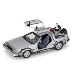 1:24 DMC 12 DeLorean Time Machine Back to the Future Car