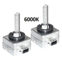 Xenonlampor, D1S 2-pack (6000K)