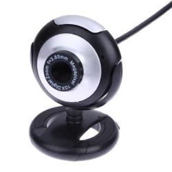 Webbkamera med inbyggd mikrofon, Roterbar, USB 2.0