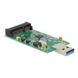 DeLOCK USB 3.0 till mSATA converter, 5Gb/s, 1xUSB typ A ha, 1xmS