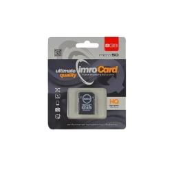 IMRO MicroSDHC 8GB cl.10 med adapter