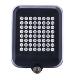 Smart automatisk baklampa till cykel med lasersensor & 64st LED