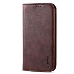 Praktiskt Robust AZNS Plånboksfodral - iPhone 11 Pro Max Brun