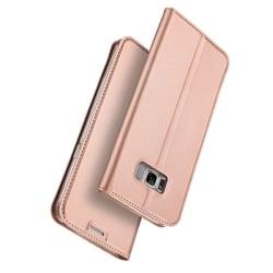 Elegant Fodral till Samsung Galaxy S8+ med plats för Kort Roséguld