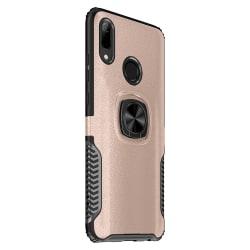 Stilsäkert Skal med Ringhållare - Huawei Y6 2019 Roséguld