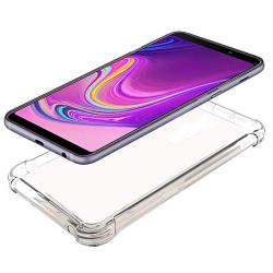 Robust Silikonskal Floveme - Samsung Galaxy A9 2018 Transparent/Genomskinlig