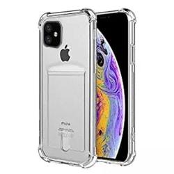 Skyddande Smidigt Silikonskal - iPhone 11 Transparent/Genomskinlig