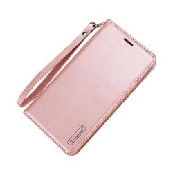 T-Casual - Smidigt Fodral med Plånbok för Samsung Galaxy A6 Plus Roséguld