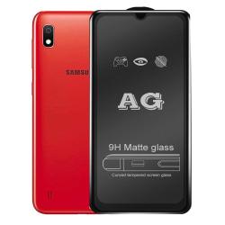 Galaxy A10 2.5D Anti-Fingerprints Skärmskydd 0,3mm Transparent/Genomskinlig