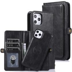 Genomtänkt Stilsäkert Plånboksfodral - iPhone 11 Pro Max Svart