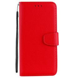 Huawei Honor 9 Lite - Plånboksfodral Röd