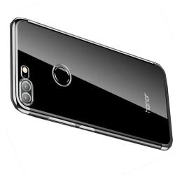 Huawei Honor 9 Lite - Exklusivt Floveme Silikonskal Silver