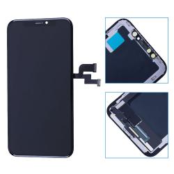 iPhone XS (Hög Kvalité) Hard OLED LCD Skärm Svart