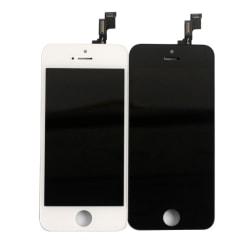 iPhone 5S LCD Skärm Display (AAA+ Kvalitet) SVART eller VIT Svart
