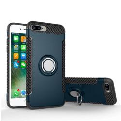 Shockproof - Stilrent Praktiskt Skal iPhone 8 Plus (MAX SKYDD) Mörkblå