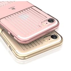 FLOVEME Stötdämpande Skal för iPhone 8 Plus DUBBELT SKYDD Marinblå
