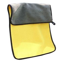 Microfiber Handduk Perfekt för bil m.m. Superabsorberande fibrer Gul