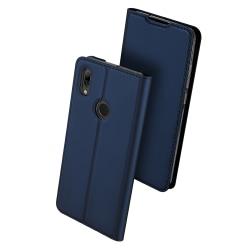 Huawei P Smart 2019 - Stilrent Fodral med Kortfack Marinblå