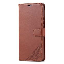 Praktiskt Plånboksfodral AZNS - Huawei P Smart Z Brun