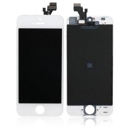 iPhone 5 LCD Display Skärm VIT (AAA kvalitet)