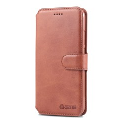 Kraftfullt AZNS Plånboksfodral - Huawei P Smart 2019 Brun