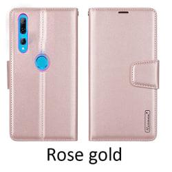 Genomtänkt HANMAN Plånboksfodral - Huawei P Smart Z Roséguld