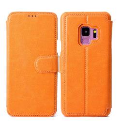 ROYBEN Plånboksfodral till Samsung Galaxy S9Plus Orange